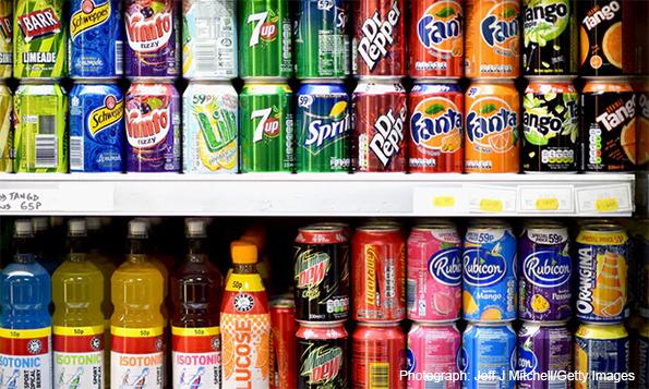 Baltimore Bans Sugary Drinks From Kids' Menus