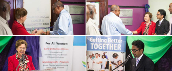 Gynaecological Cancer Unit opened at QEH in Barbados