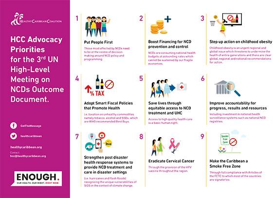 HCC Caribbean Civil Society HLM3 Priorities