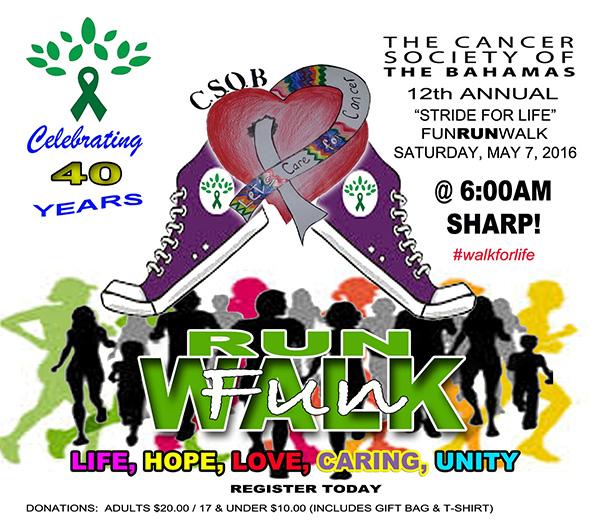 Stride for Life Fun, Run, Walk 2016