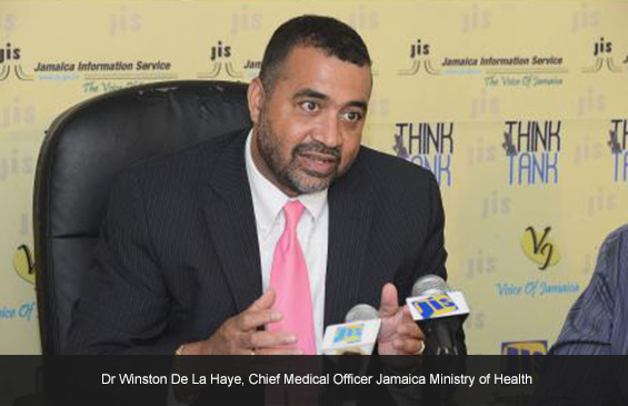Dr Winston De La Haye, Chief Medical Officer Jamaica Ministry of Health