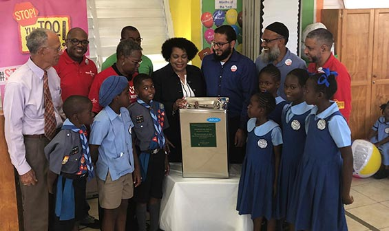 Heart & Stroke Foundation of Barbados (HSFB) Launch Water Cooler Distribution Project
