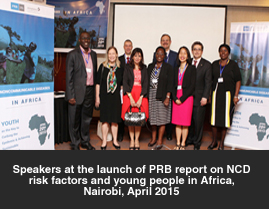 New Report Shows Youth are Key to Tackling Non-communicable Diseases (NCDs) in Africa