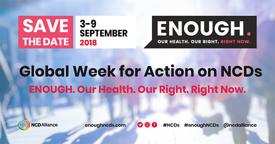 NCD Alliance Global Week for Action on NCDs