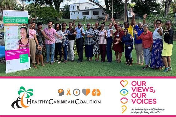 Our Views, Our Voices Barbados Training