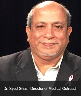 Dr. Syed Ghazi, Director of Medical Outreach