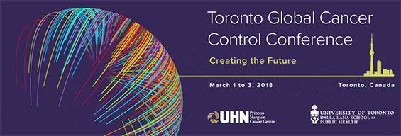 Toronto Global Cancer Control Conference Travel Awards
