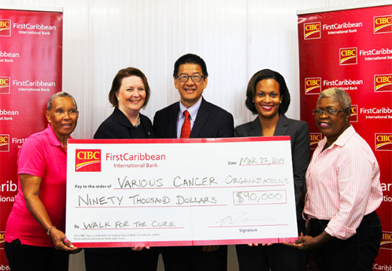 CIBC FirstCaribbean Increases Annual Donation to Cancer Organizations Across Bahamas