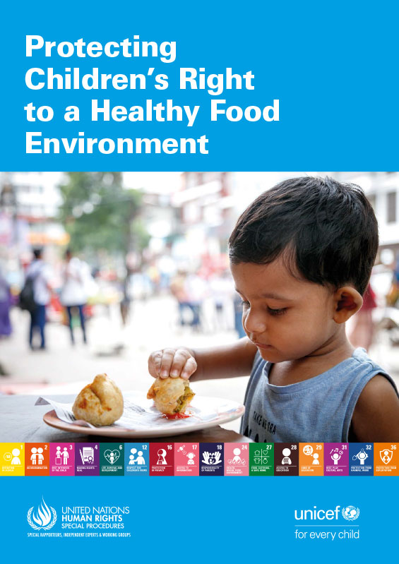UNICEF Report: Protecting Children's Right to a Healthy Food Environment