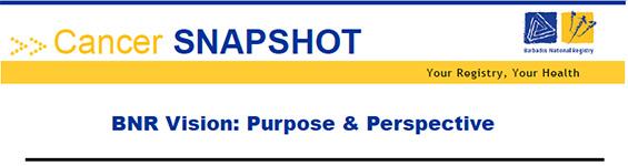 Barbados National Registry Cancer Snapshot