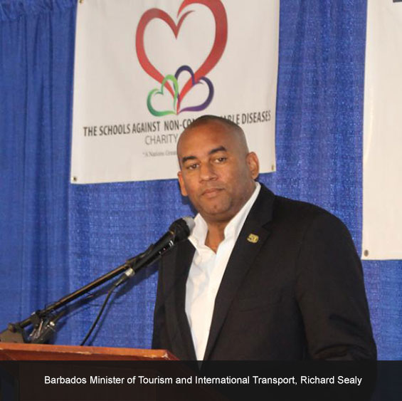 Minister of Tourism and International Transport, Richard Sealy
