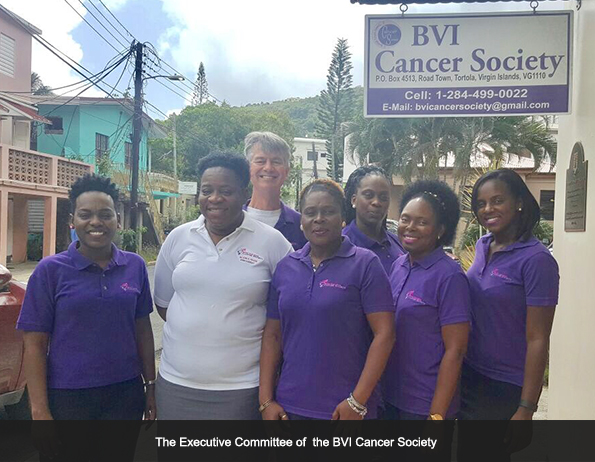 the BVI Cancer Society