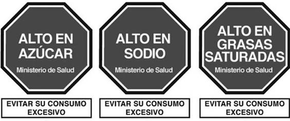Nutrition Warning labels Peru