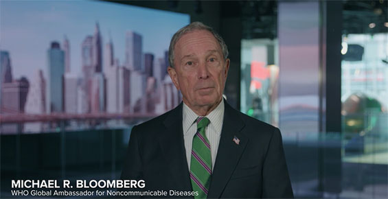 Mike Bloomberg Announces Support to Fight Obesity in the Caribbean