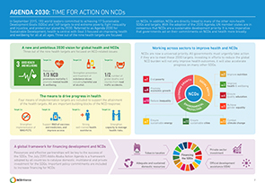 Agenda 2030 Time for Action on NCDs