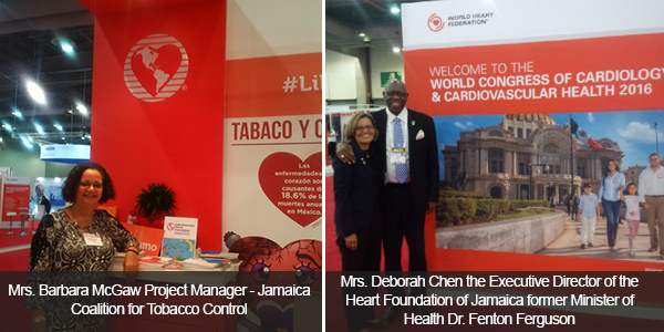 Jamaica Well Represented at The World Congress of Cardiology