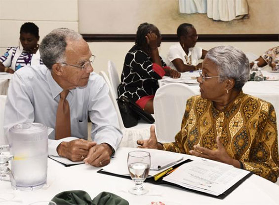 Sir Trevor Hassell, President of the Healthy Caribbean Coalition
