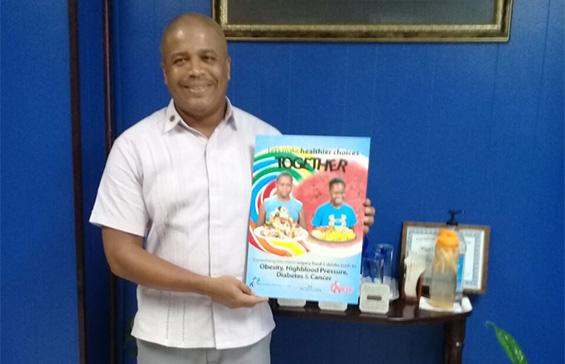 The Mayor of Belize City, Mr Bernard Wagner