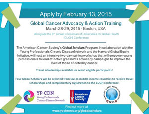 American Cancer Society's Global Scholars Program