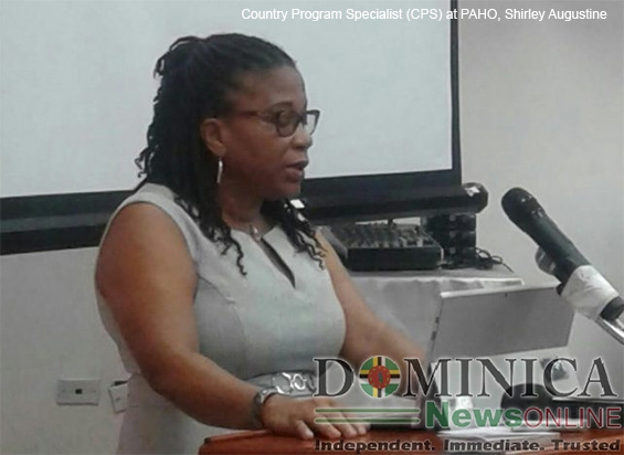 Country Program Specialist (CPS) at the Pan American Health Organization, Shirley Augustine