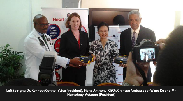 Donation of Two AED Units by the Chinese Embassy