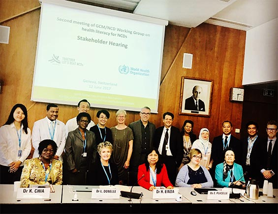 Second Meeting of the WHO GCM/NCD Working Group