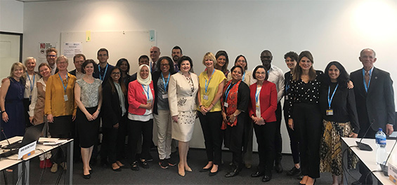 Members of the WHO Civil Society Working Group
