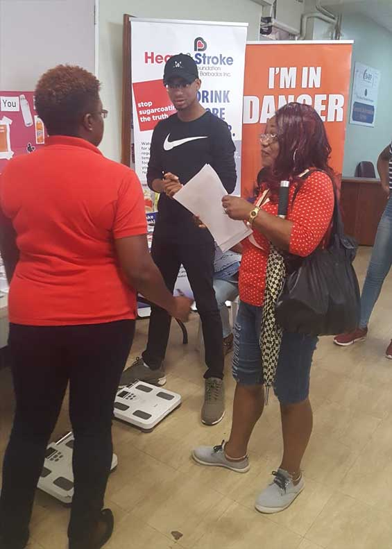 Visitors to an open day at the Queen Elizabeth Hospital Barbados