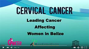 Belize Cancer Society Cervical Cancer PSA