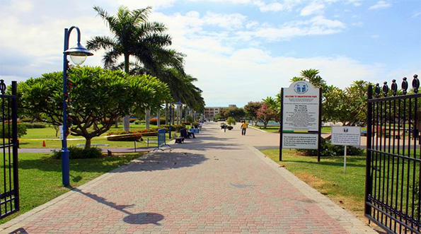 Emancipation Park in St. Andrew