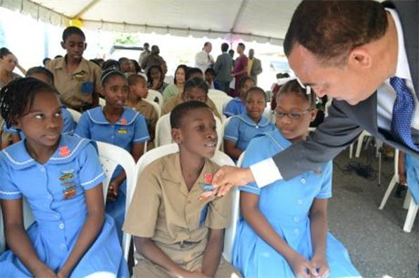 Jamaica's Health Minister, Dr Christopher Tufton
