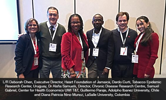 Caribbean Representatives at 5th Latin American and Caribbean Conference Tobacco or Health