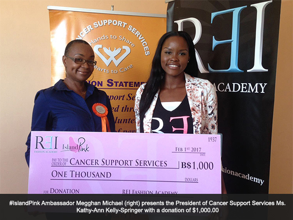 Cancer Support Services Receives Donation from REI