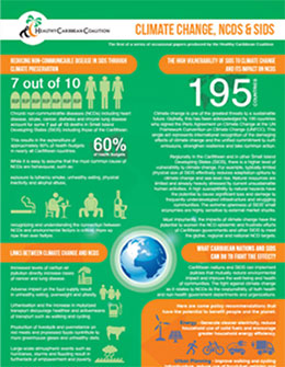 NCD prevention and control: Climate Change, NCDs & SIDS