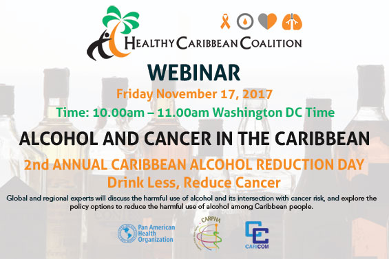 Alcohol and Cancer in the Caribbean Webinar