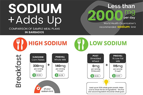 Sodium Adds up