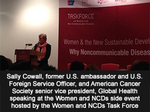 Sally Cowall, former U.S. ambassador