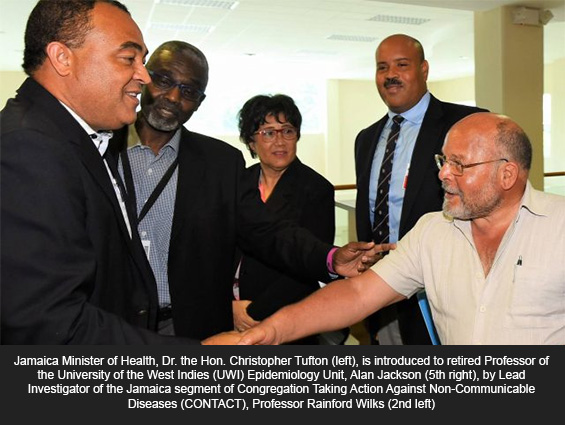 Jamaica, Guyana and Dominica to Take Part in Three-Year Project to Reduce NCDs