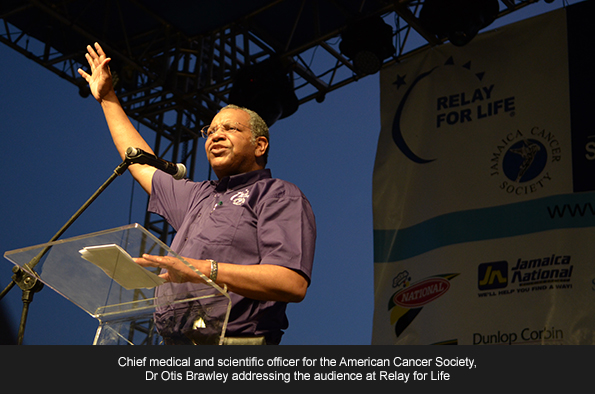 CHIEF medical and scientific officer for the American Cancer Society, Dr Otis Brawley