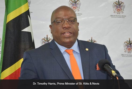 Dr. Timothy Harris, Prime Minister of St. Kitts & Nevis