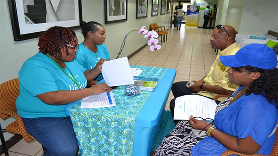 Sagicor PAP smear screening