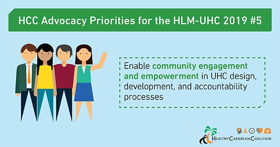 HCC's UHC advocacy priorities #5