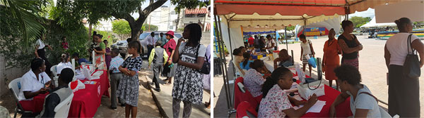 Free Blood Pressure Screening in Jamaica