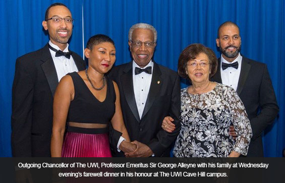 Sir George and Family