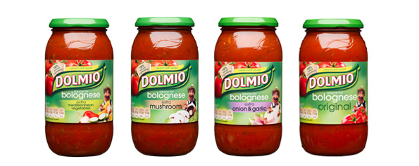 Dolmio 'Eat Occasionally' Labels
