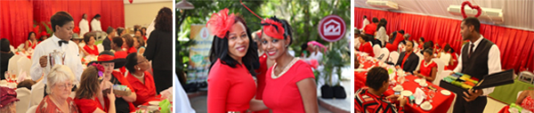 Heart Foundation hosts Go Red for Women High Tea event