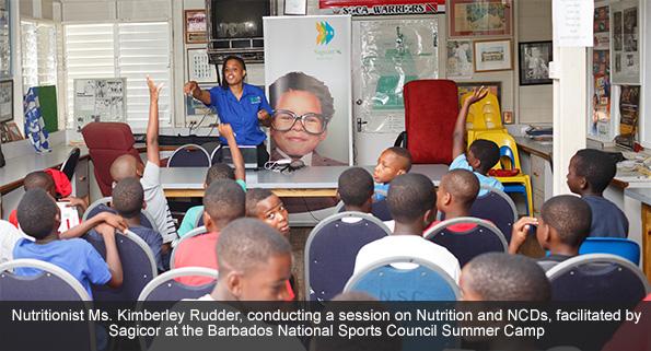 Nutritionist Ms. Kimberley Rudder