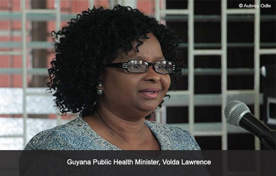 Guyana Public Health Minister, Volda Lawrence