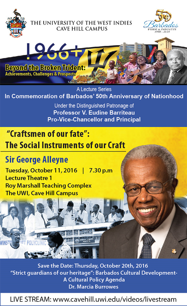 Sir George Alleyne Game Changing Lecture