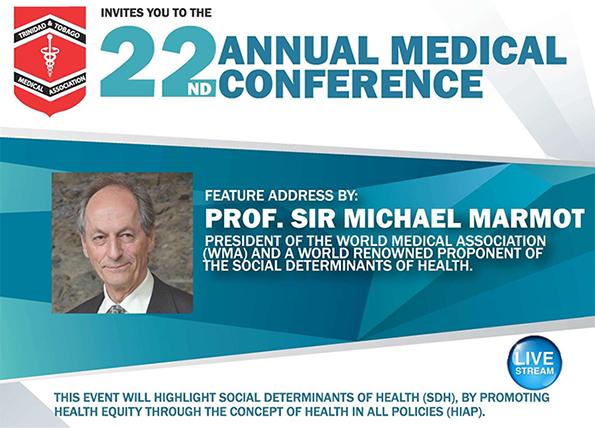Prof. Sir Michael Marmot Feature Address Livestream
